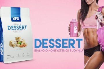 Мицеллярный казеин KFD Nutrition Premium dessert.