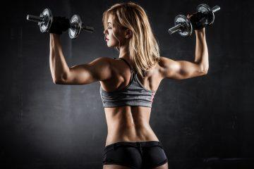 Базовая программа тренировок для девушек на неделю для набора мышечной массы
